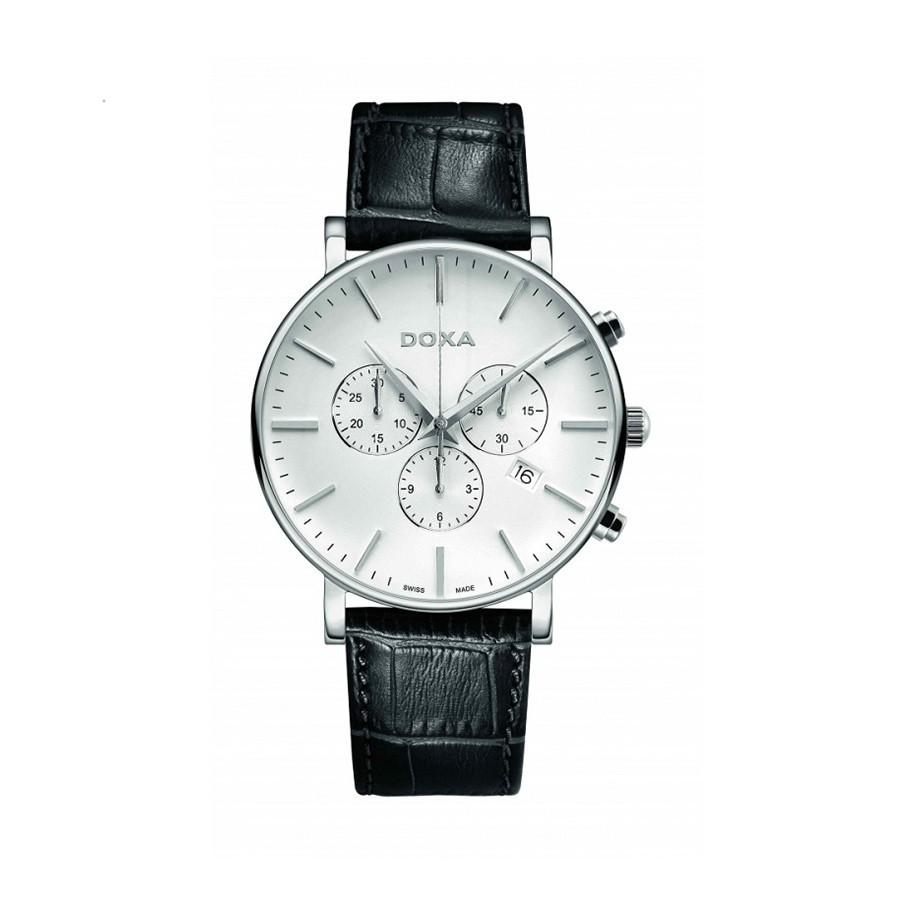 D-Light White Dial Men's Chronograph Watch