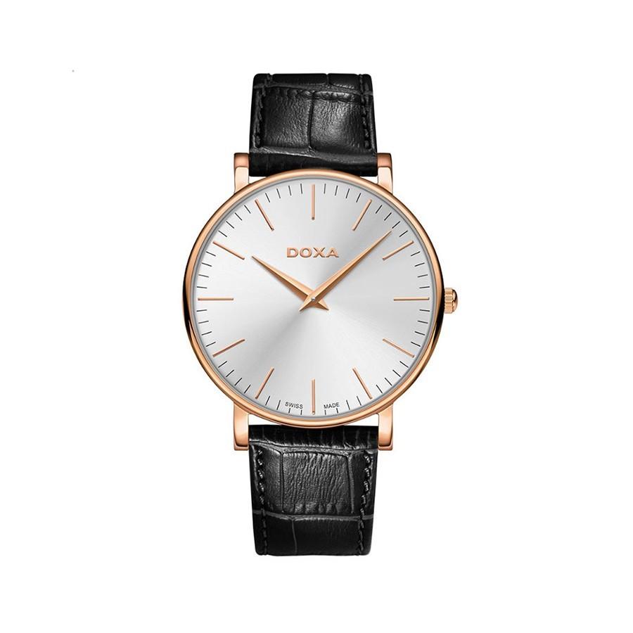 DOXA D-Light Pink Gold Toned Quartz Men's Watch