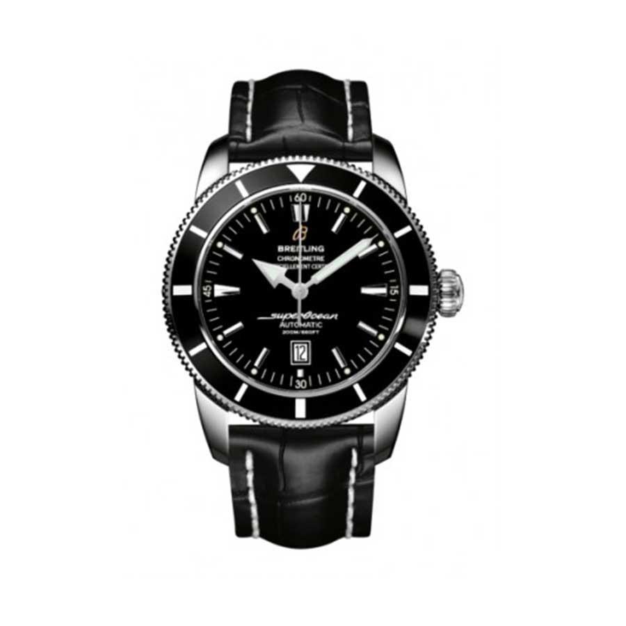 BREITLING Superocean Heritage 46 Black Dial Stainless Steel Men's Watch