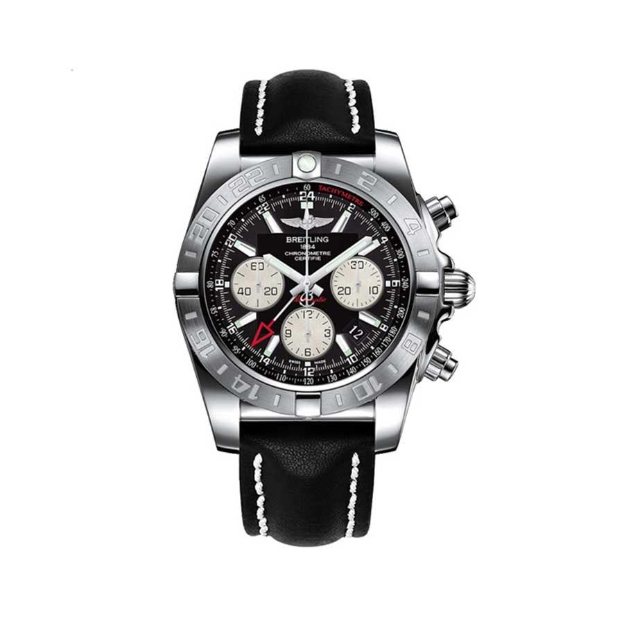 BREITLING Chronomat 44 GMT Black Dial Men's Watch