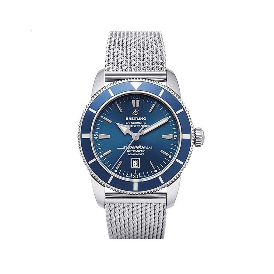 Superocean Heritage 46 Blue Dial Stainless Steel Men's Watch