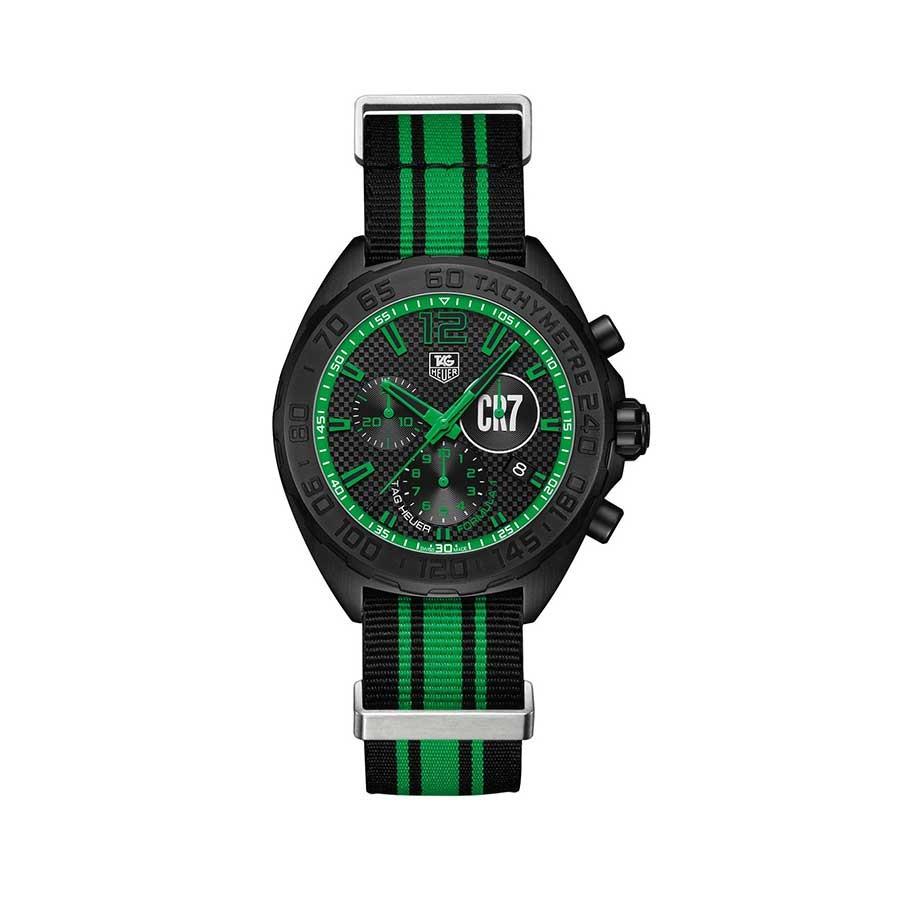 Formula 1 Black Dial Quartz Men's Watch