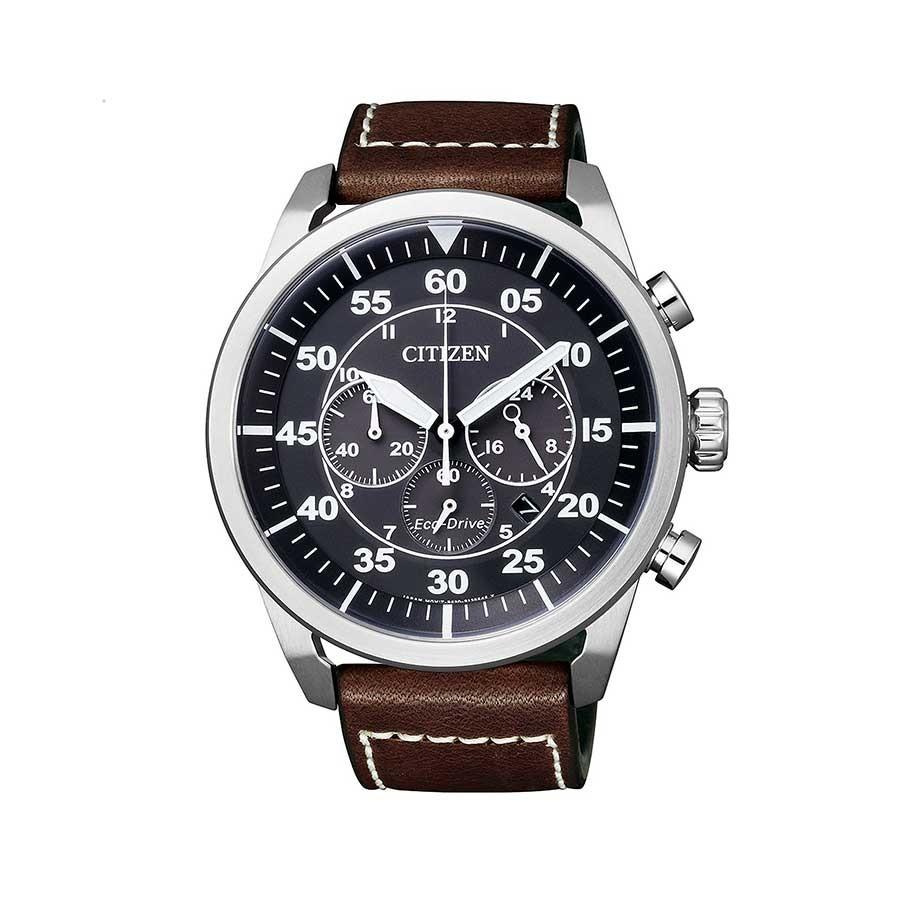 CITIZEN Sports Men's Eco-Drive Aviator Chronograph Watch