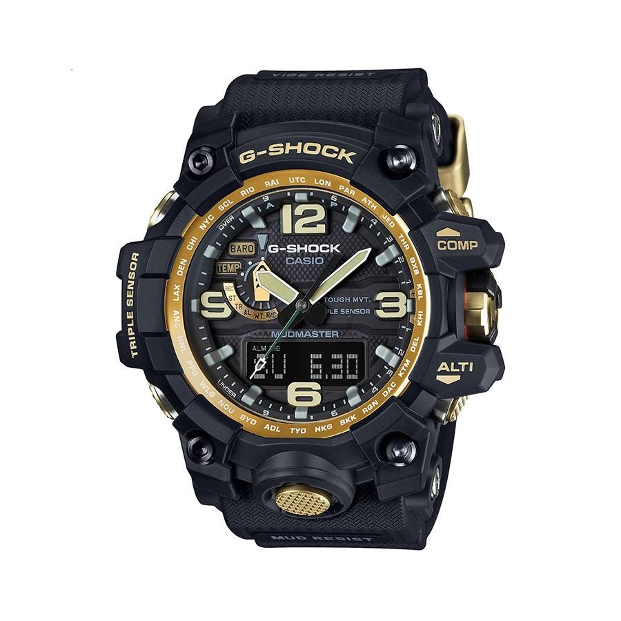 CASIO Mudmaster G-Shock GWG-1000GB-1AER Black and Gold
