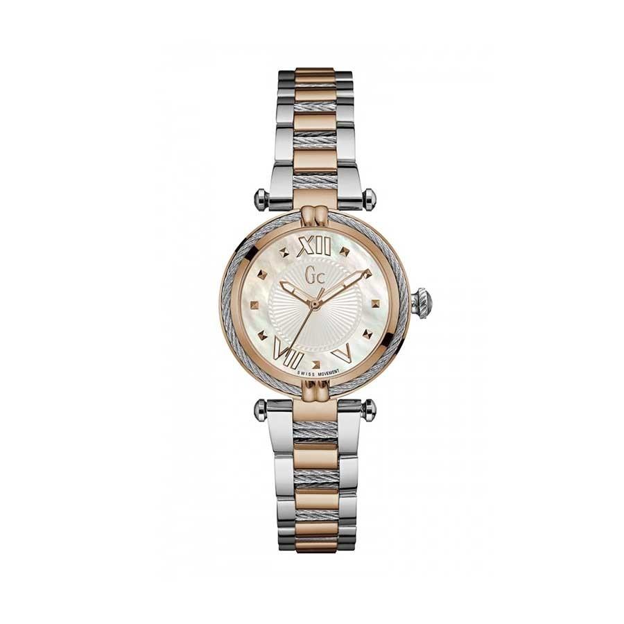 GC LadyChic Two Tone Bracelet Watch Y18002L1