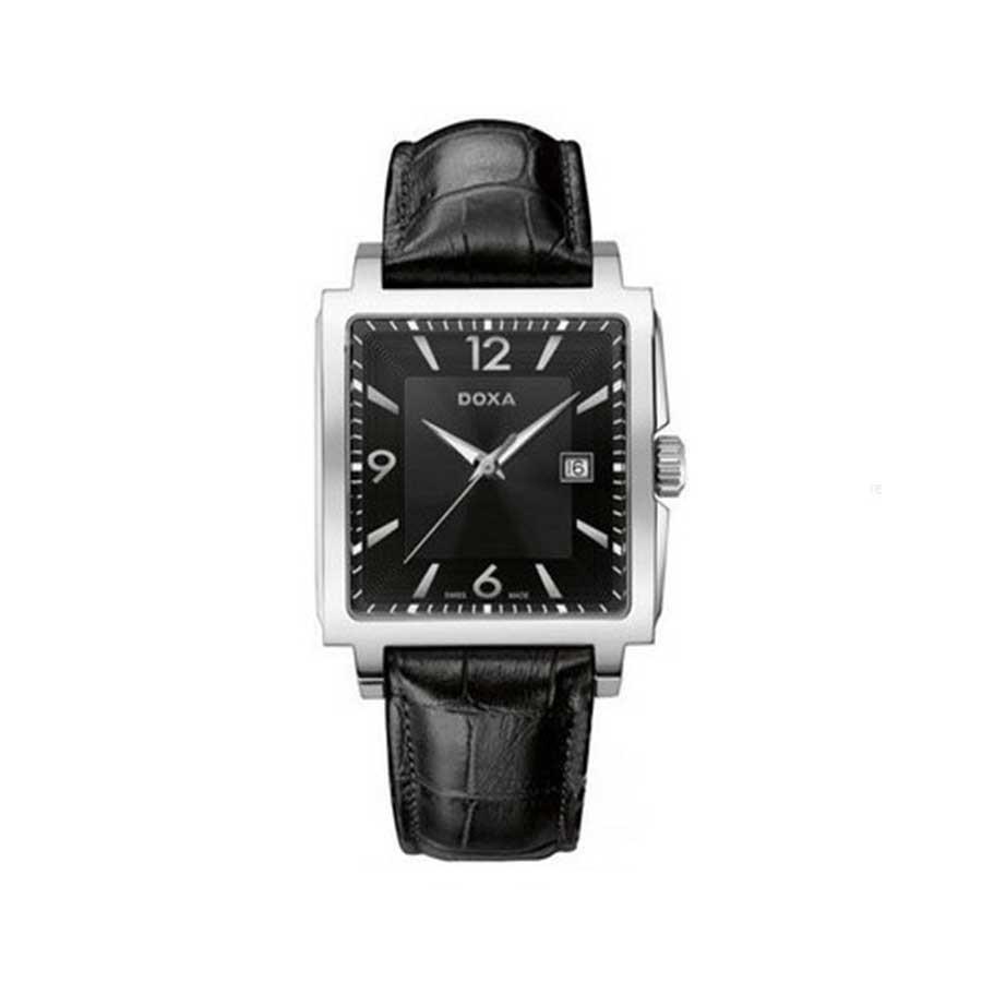 Quadro Steel Black Men's Watch