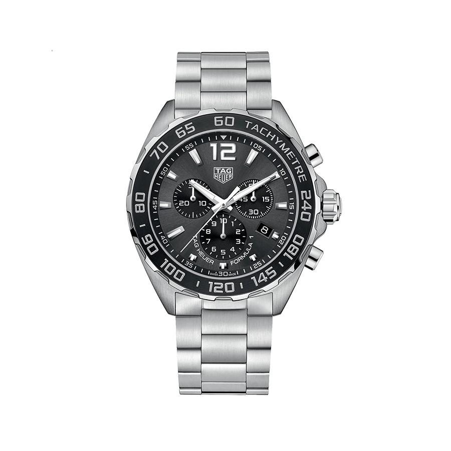 TAG HEUER Formula 1 Chronograph Black Dial Men's Watch CAZ1011.BA0842