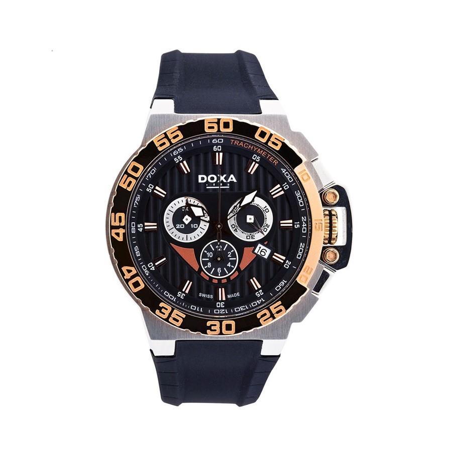 DOXA SPLASH GENT CHRONO Black Dial Watch