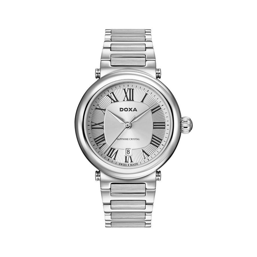 Calex Quartz Silver Dial Stainless Steel Men's Watch