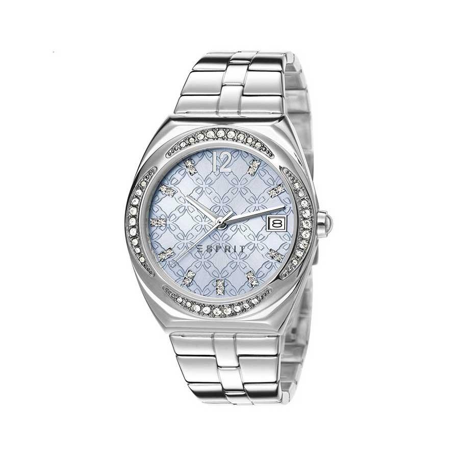 ESPRIT Stainless Steel Blue Dial Ladies Watch