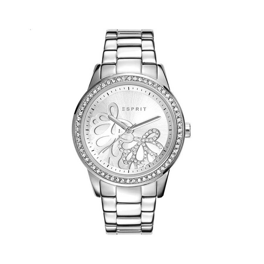 Silver Dial Quartz Ladies Watch