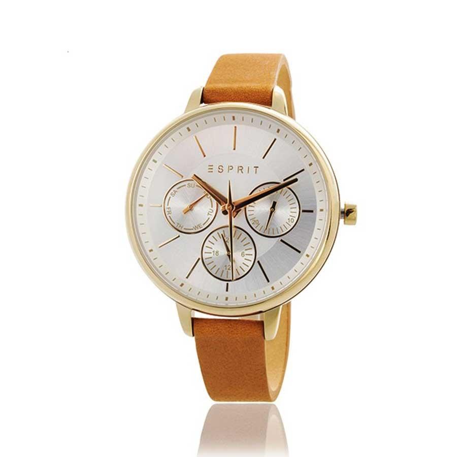 ESPRIT Silver/Gold Ladies Chronograph Watch