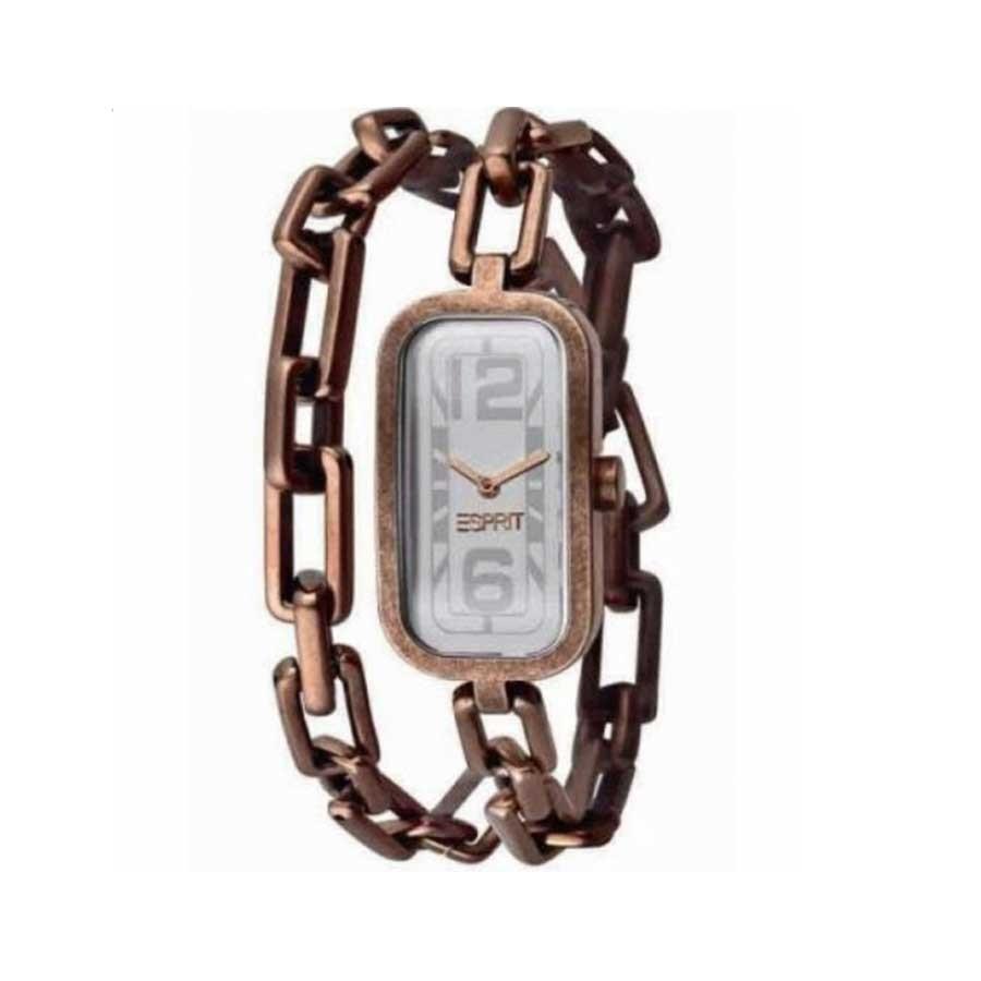 Women's Gold Stainless-Steel Quartz Watch ES100772004