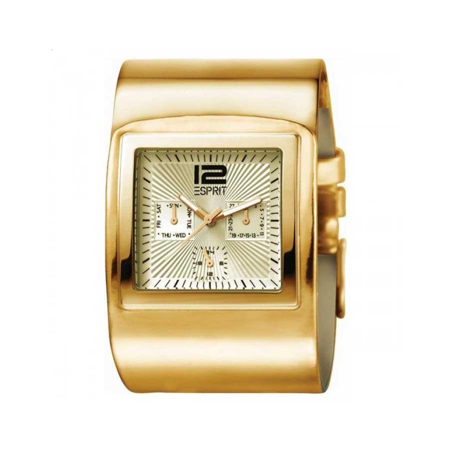Esprit PVD Gold Quartz Ladies Watch