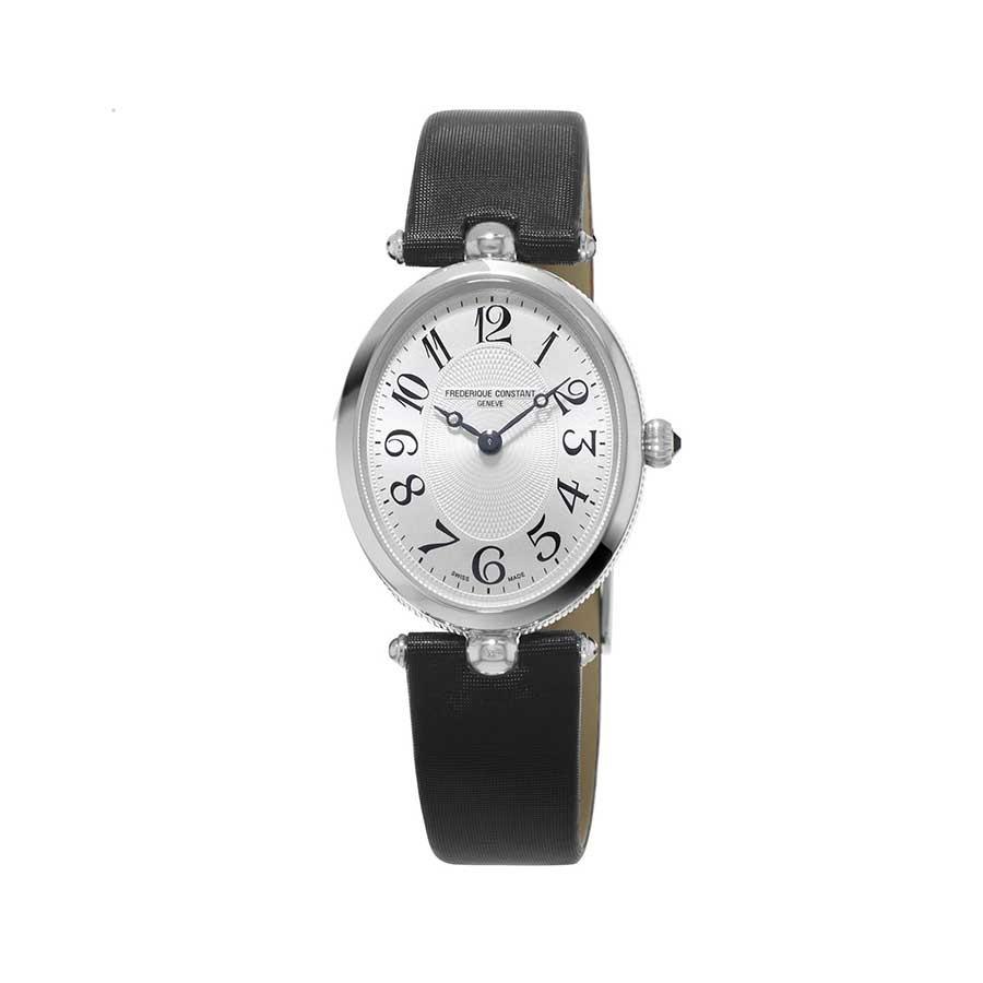FREDERIQUE CONSTANT Classics Art Deco Oval White Dial Ladies Watch