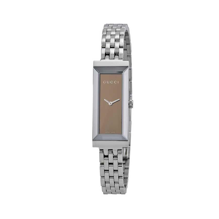 G-frame sm rec brown/steel/bracelet