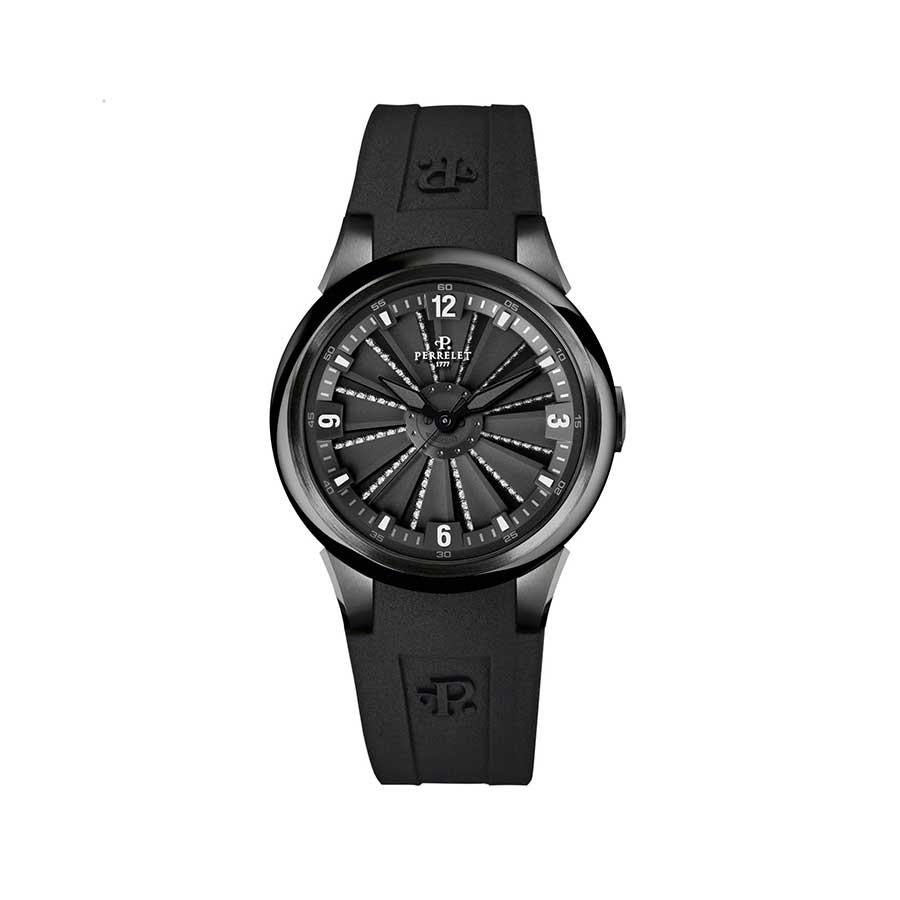 TURBINE XS Lady Automatic Full Black with Diamonds A2046/AA
