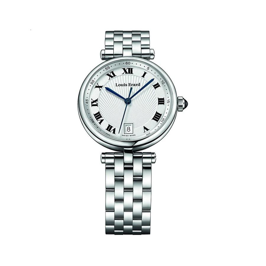 Romance Quartz Silver Dial Stainless Steel Women's Watch