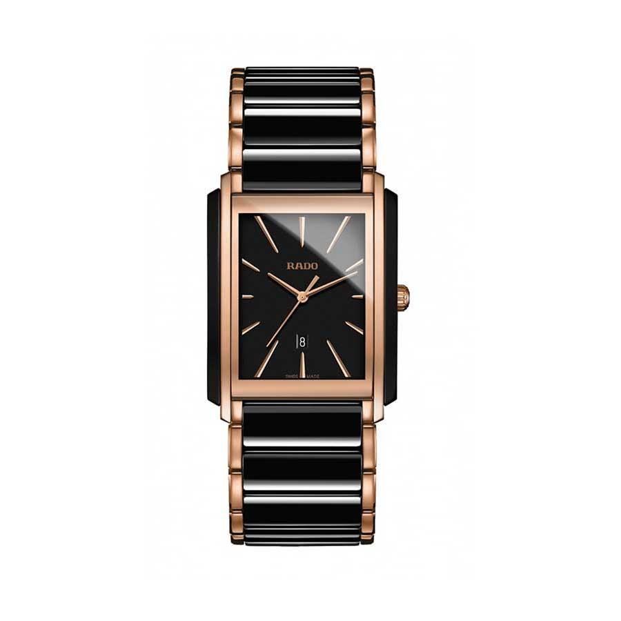 L Uhr Integral schwarz, schw.