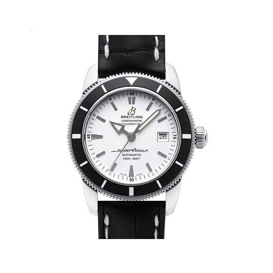 Superocean Heritage 42 White Dial Steel Men's Watch