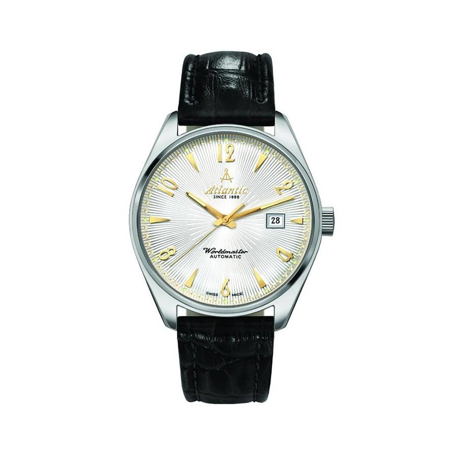 Worldmaster White Dial Stainless Steel Men's Watch 51752.41.25G