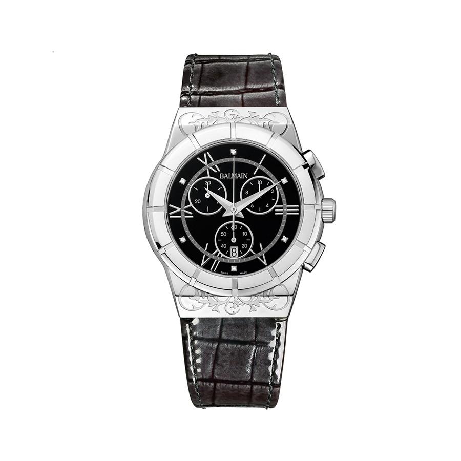 Balmainia Chrono Lady Sport Black Dial Watch