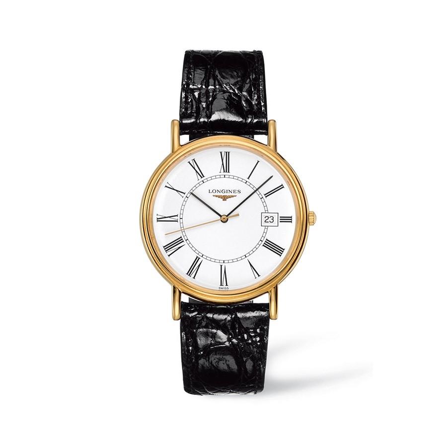 Présence Yellow Gold Quartz Men's Watch