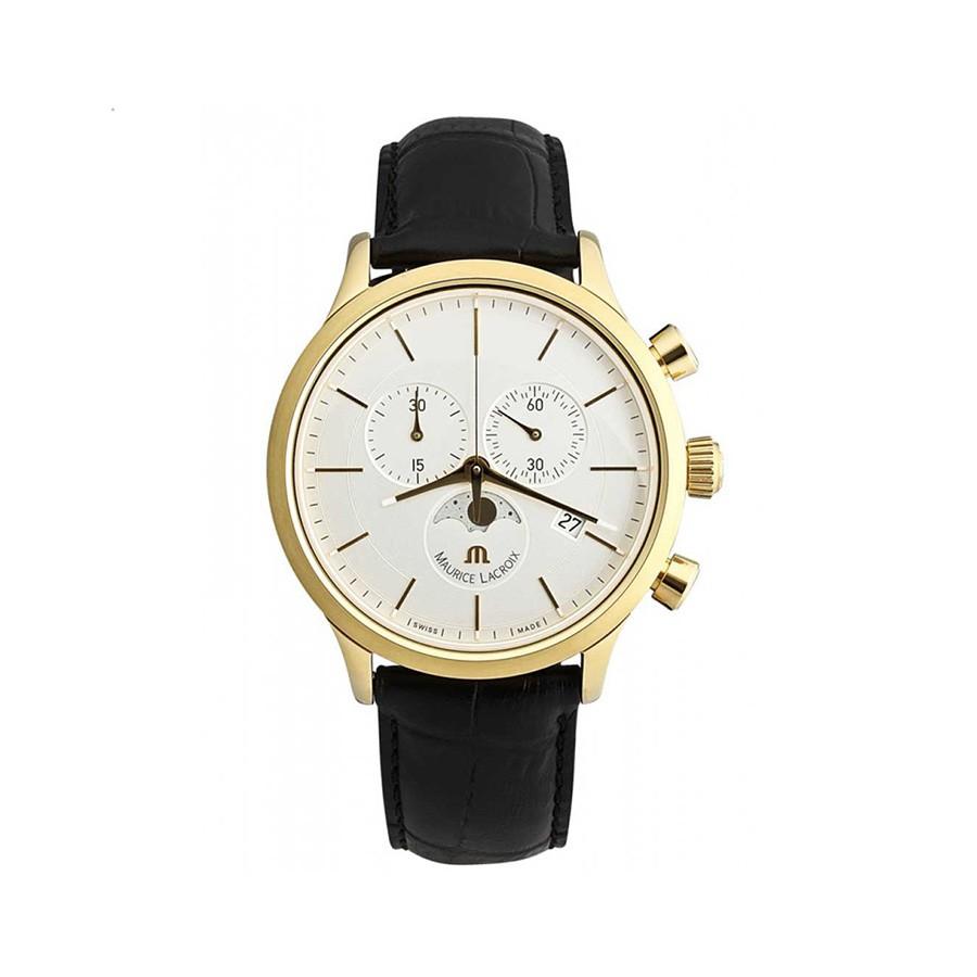 Les Classiques White Dial PVD Gold Men's Watch LC1148-PVY01-130