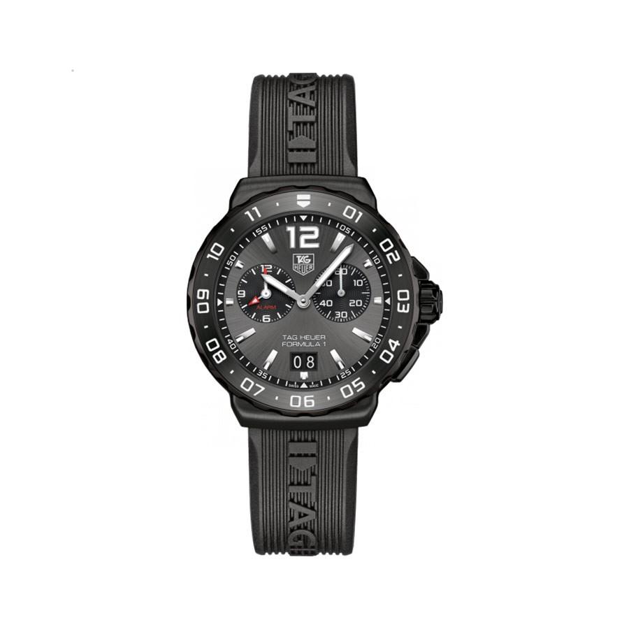 Formula 1 Black Dial Black Rubber Quartz  Men's Watch