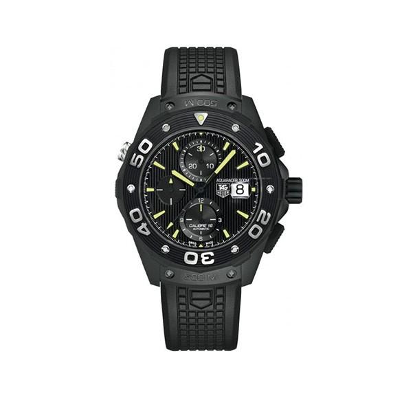 Aquaracer Automatic Chronograph 500M Men's Watch