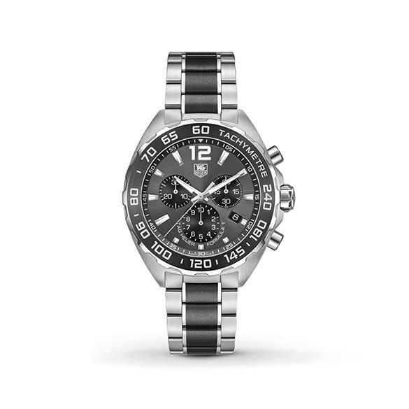 TAG HEUER Formula 1 Chronograph Black Dial Men's Watch