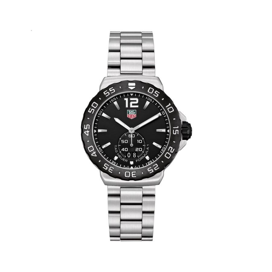 Formula 1 Grande Date Black Dial Stainless Steel Men's Watch