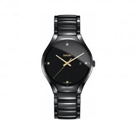 True Black Dial Black Ceramic Men's Watch R27238712