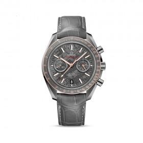 Moonwatch Co-Axial Grey Side of the Moon Meteorite Men's Watch
