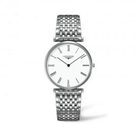 La Grande Classique White Dial Stainless Steel Men's Watch