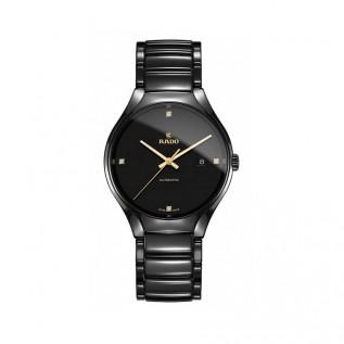 True Black Dial Black Ceramic Men's Watch R27056712