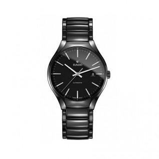 True Automatic Black Dial Black Ceramic Men's Watch R2705615