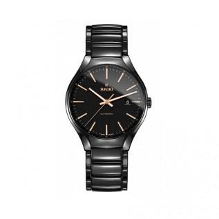 True Black Dial Black Ceramic Men's Watch R27056162