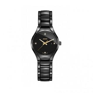 True Black Dial Quartz Ladies Watch R27059712