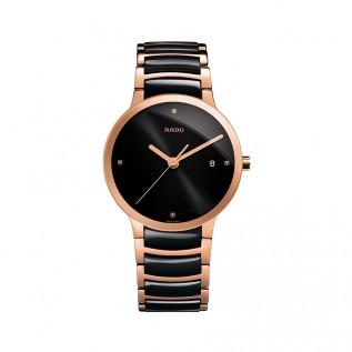 Centrix Jubile Black Dial Black Ceramic Men's Watch